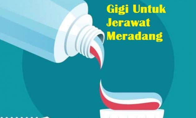 Manfaat Pasta Gigi Untuk Jerawat Meradang
