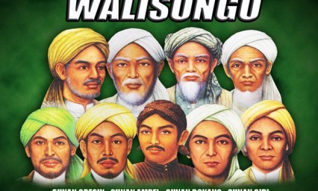Nama Asli Wali Songo Serta Daerah Penyebaran Ajarannya